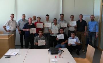 Schulung für Spezialisten aus Tadschikistan und Usbekistan in der Hochschule Weihenstephan-Triesdorf
